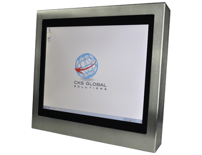17 Industrial Panel PC Cased Front