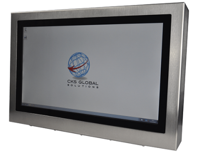 22 Industrial Display Monitor Cased Front