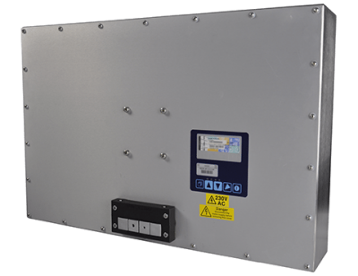 22 Industrial Display Monitor Cased Rear