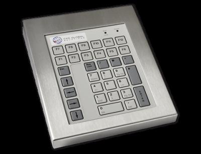 42 Key Industrial Keyboard Cased Front