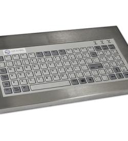 96 Key Industrial Keyboard Cased Front