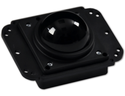 TB_38 Industrial Trackerball Universal Plate Front
