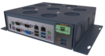 SB200 Industrial Box Computer Front