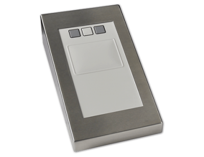 TP Industrial Touchpad Cased Front