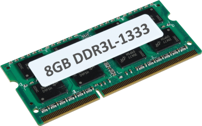 8GB DDR3L 1333MHz 204-pin