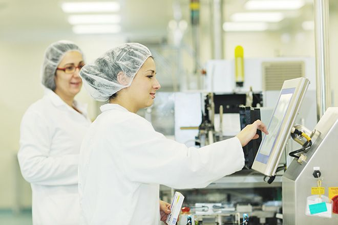The Role Of A Projected Capacitive Touch Screen for Food Processing