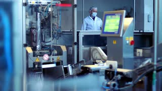Projected Capacitive Touchscreen for the Food Processing Industry