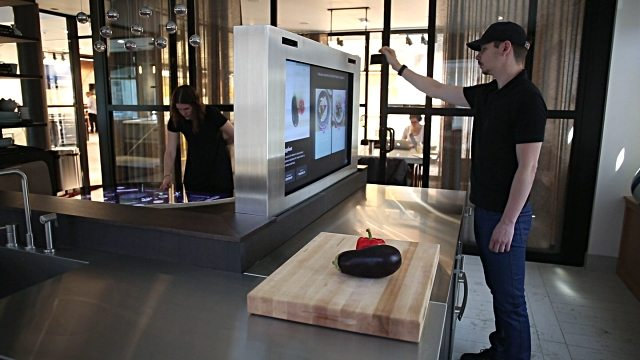 Benefits of Projected Capacitive Touchscreen in the Kitchen