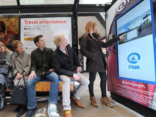 Leverage Advertising Through Projected Capacitive Touchscreens