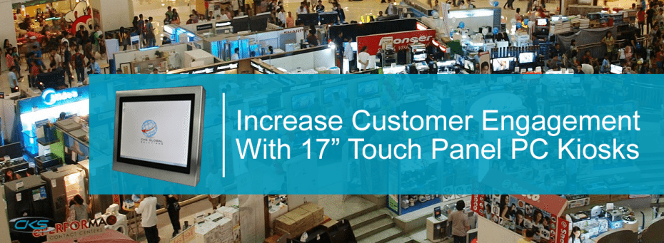How S17 Touch Panel PC Kiosks are Utilised in Commercial Businesses