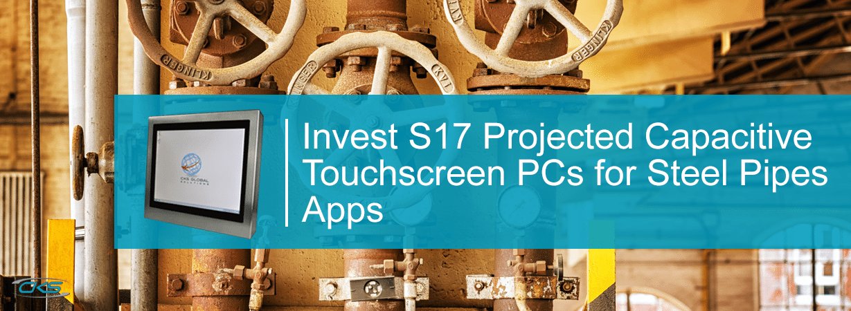 Utilising Projected Capacitive Touchscreen System for Steel Pipe Manufacturing Operations