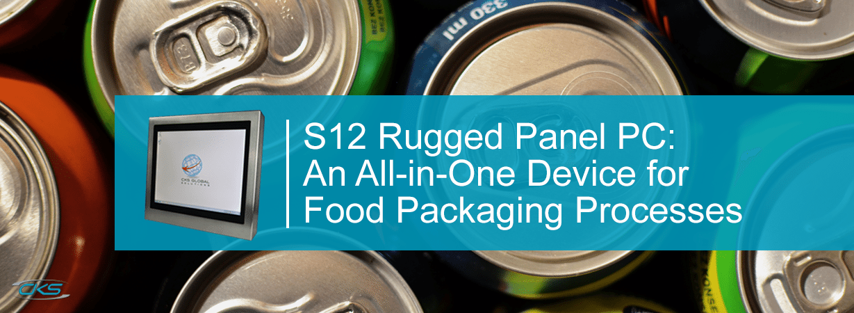 How S12 Panel PCs Drive Better Operations in Food Packaging