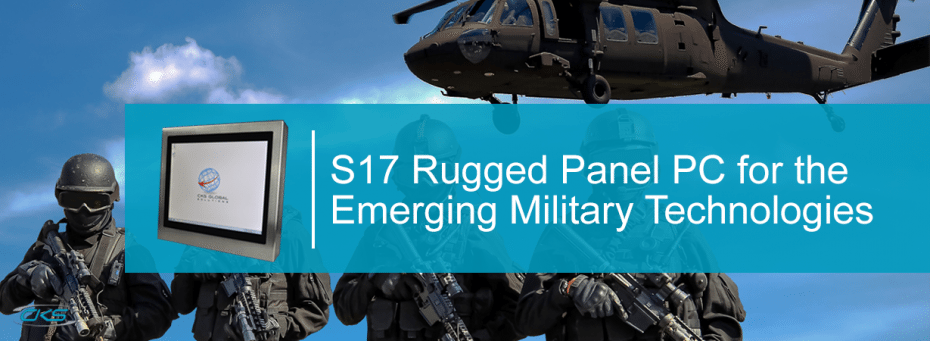 Using the S17Panel PC system for the Various Military Operations