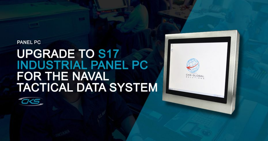 Naval Tactical Data Systems Integrated With the S17 Industrial Panel PCs