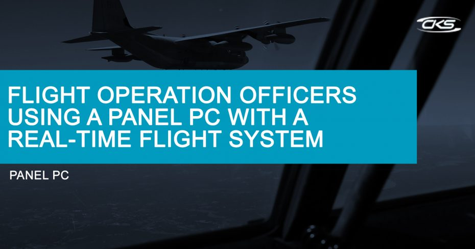 Using Industrial Panel PCs for Around-the-Clock Flight Tracking