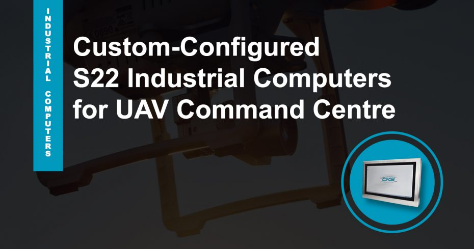 """Employing 22"""" Embedded PCs To Military Drones Control Station"""