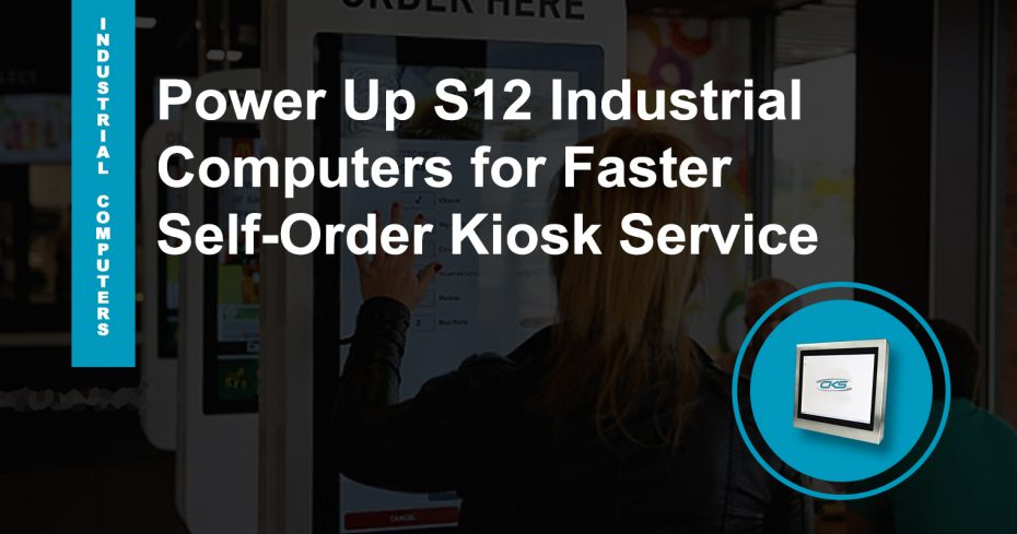 "Advancing Kiosks Applications Using 12.1"" Industrial Computers"