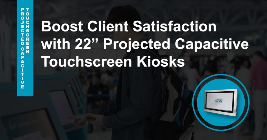 """Advanced Kiosk Applications Installed on 22"""" Touchscreen Panel PC"""