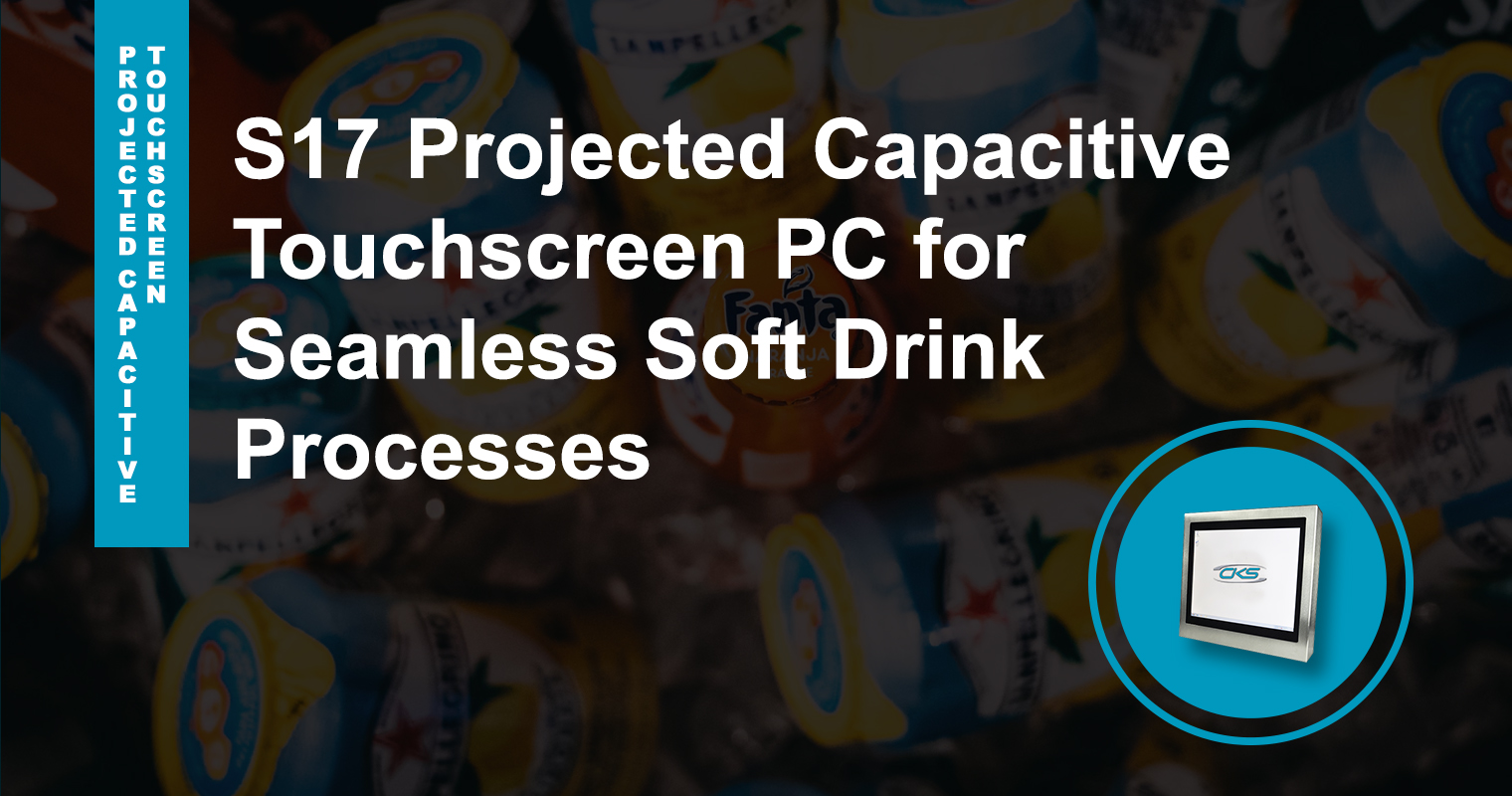 Increased Soft Drink Production Using the S17 Industrial Panel PCs