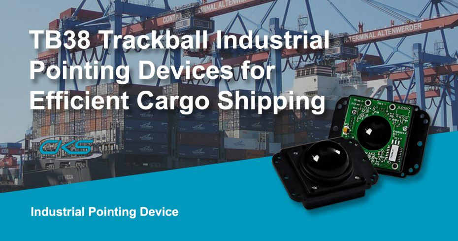 Effective Shipping Management Using TB38 Trackballs on Panel PCs