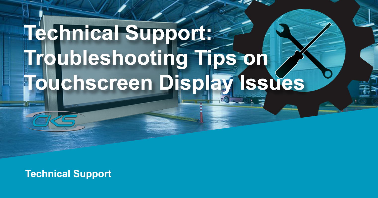 Technical Support Troubleshooting Tips About Touchscreen Display PC Issues
