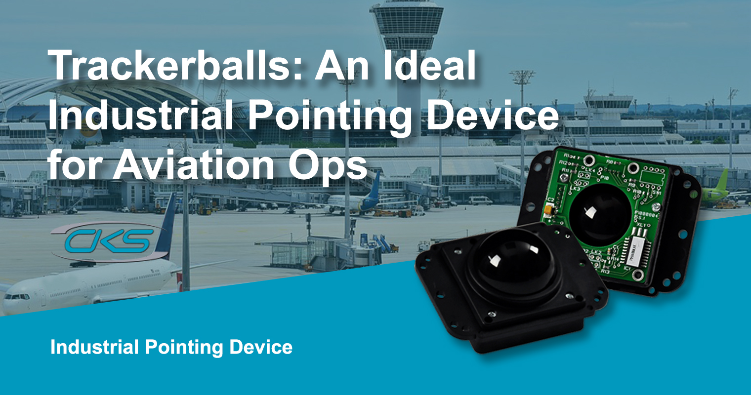 Panel PCs with Trackerballs for an Accurate Flight Monitoring System