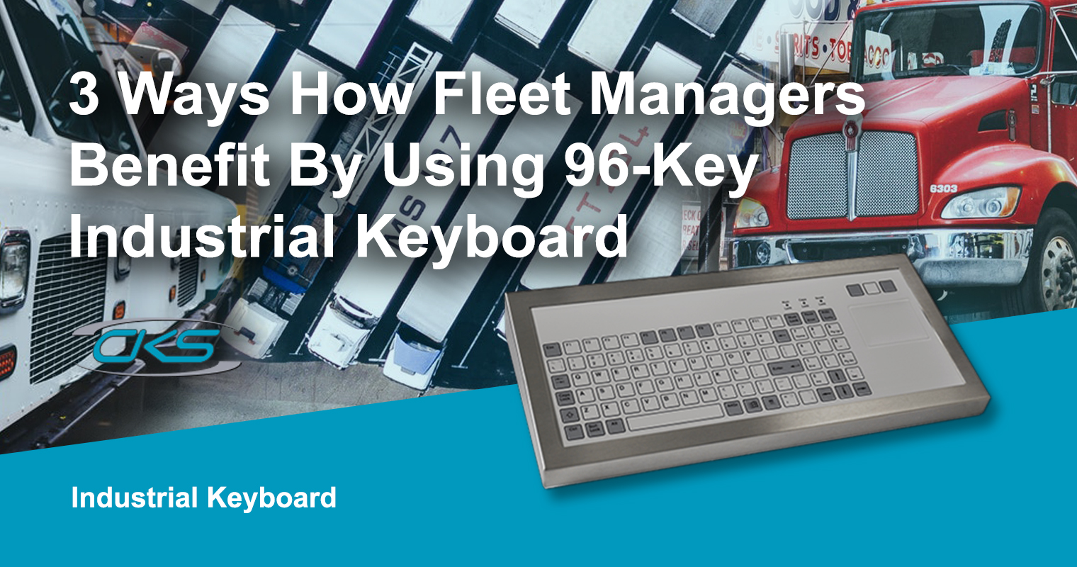 Maximising Operational Efficiency Using the 96-key Rugged Keyboards