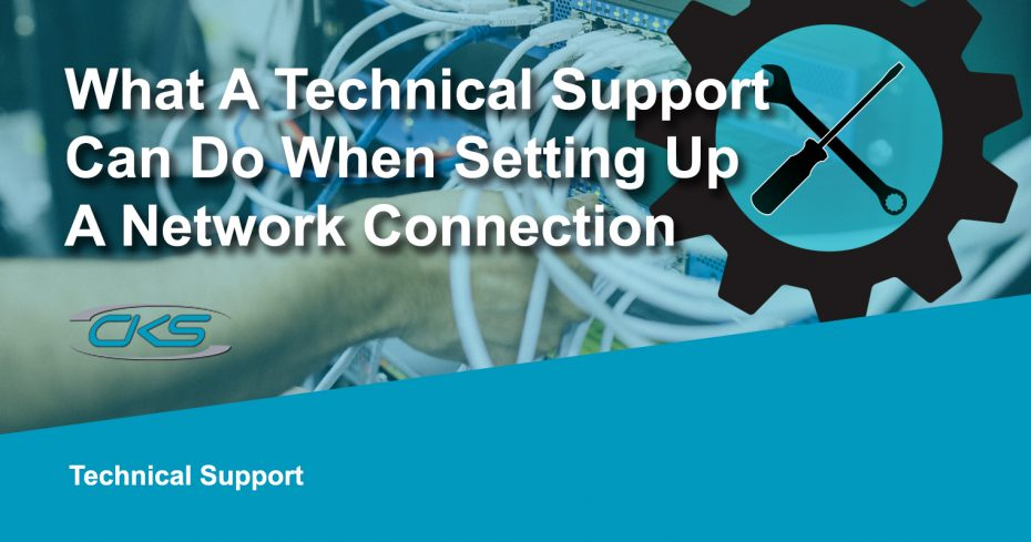 What a Technical Support Can Do When Setting Up a Network Connection