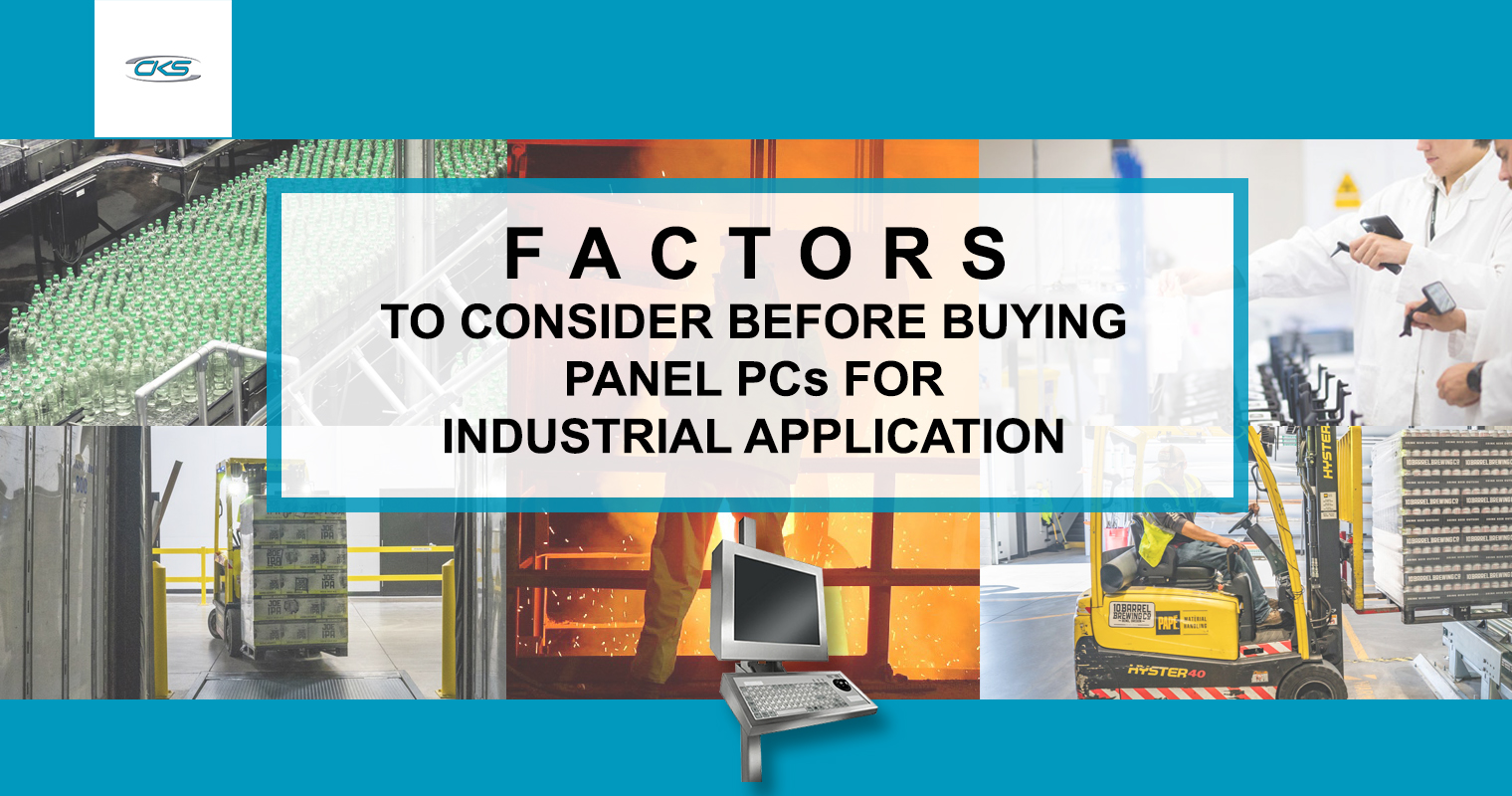 Factors to Consider Before Buying Panel PCs for Industrial Application