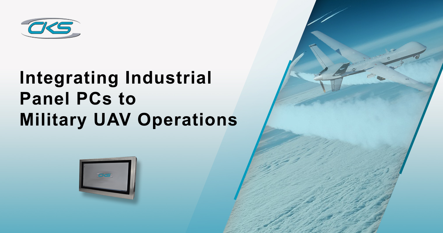 Integrating Industrial Panel PCs to Military UAV Operations